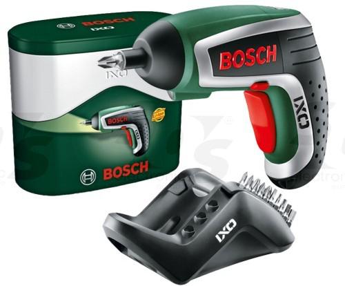 Visseuse Sans Fil Bosch IXO IV - 10 Embouts de Vissage et Chargeur - Edition basique