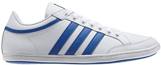 Jusqu'à -80% sur une sélection d'articles - Ex: Baskets basses Adidas Plimcana Low Blanc/Bleu (39,5/40)