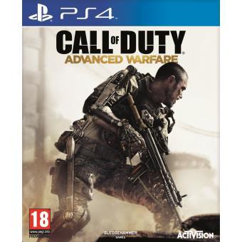 Jeu Call of Duty Advanced Warfare édition standard sur PS4