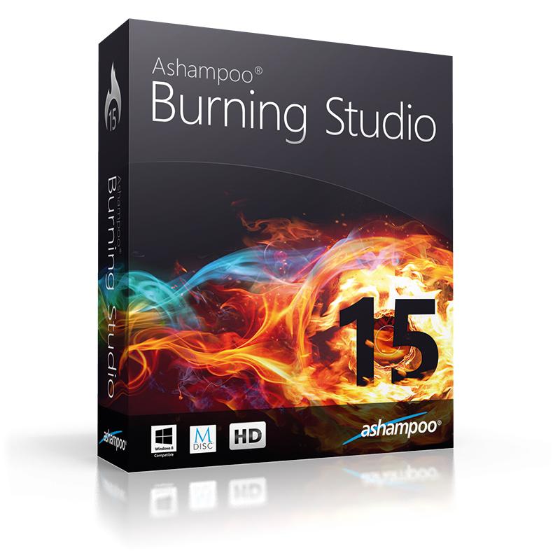 Logiciel Ashampoo Burning Studio 15 - Avec mises à jours