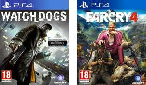Jeu Assassin's Creed : Unity ou Far Cry 4 + Watch Dogs sur PS4 et Xbox One