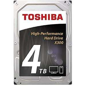 "Disque dur interne 3.5"" Toshiba X300 Bulk - 4 To 7200rpm 128mo"