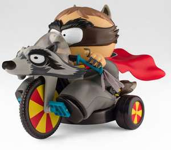 Tricycle télécommandé du coon South Park l'annale du destin