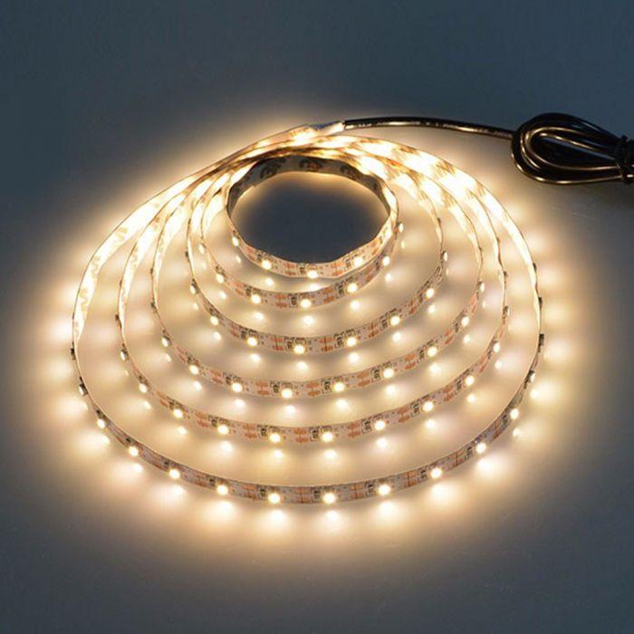 Bande LED USB - 1 m, blanc chaud ou clair (frais de port inclus)