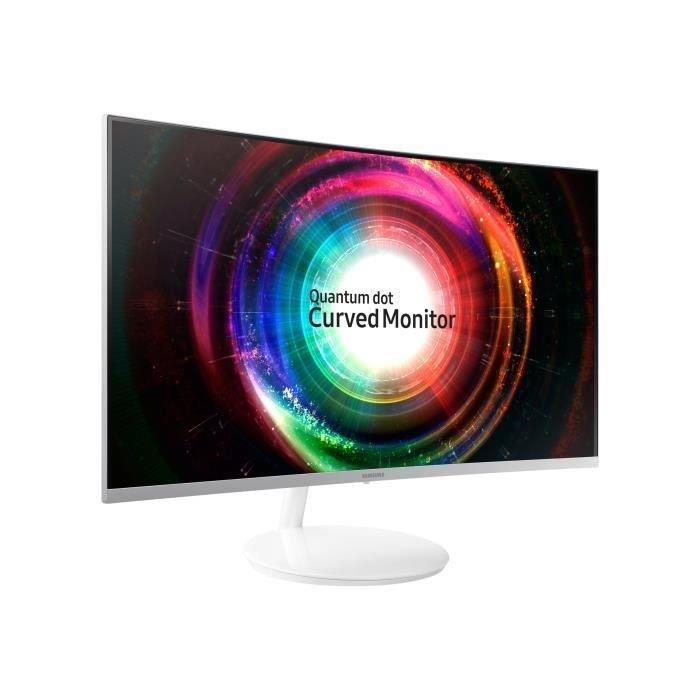 """Écran PC 27"""" Samsung C27H711 - WQHD, Dalle VA, Quantum Dot, 4ms, FreeSync (Frontaliers Suisse)"""