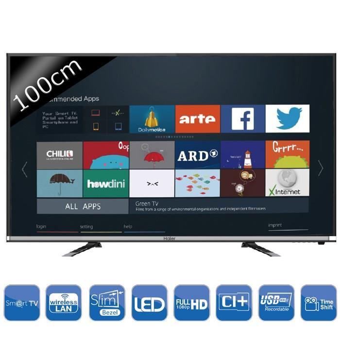 "Téléviseur 40"" Haier LE40K5000TF Smart TV Full HD 100cm"