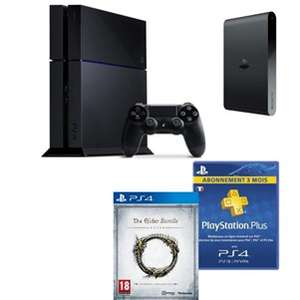 Pack PS4 + PS TV + The Elder Scrolls + PS+ 3 mois