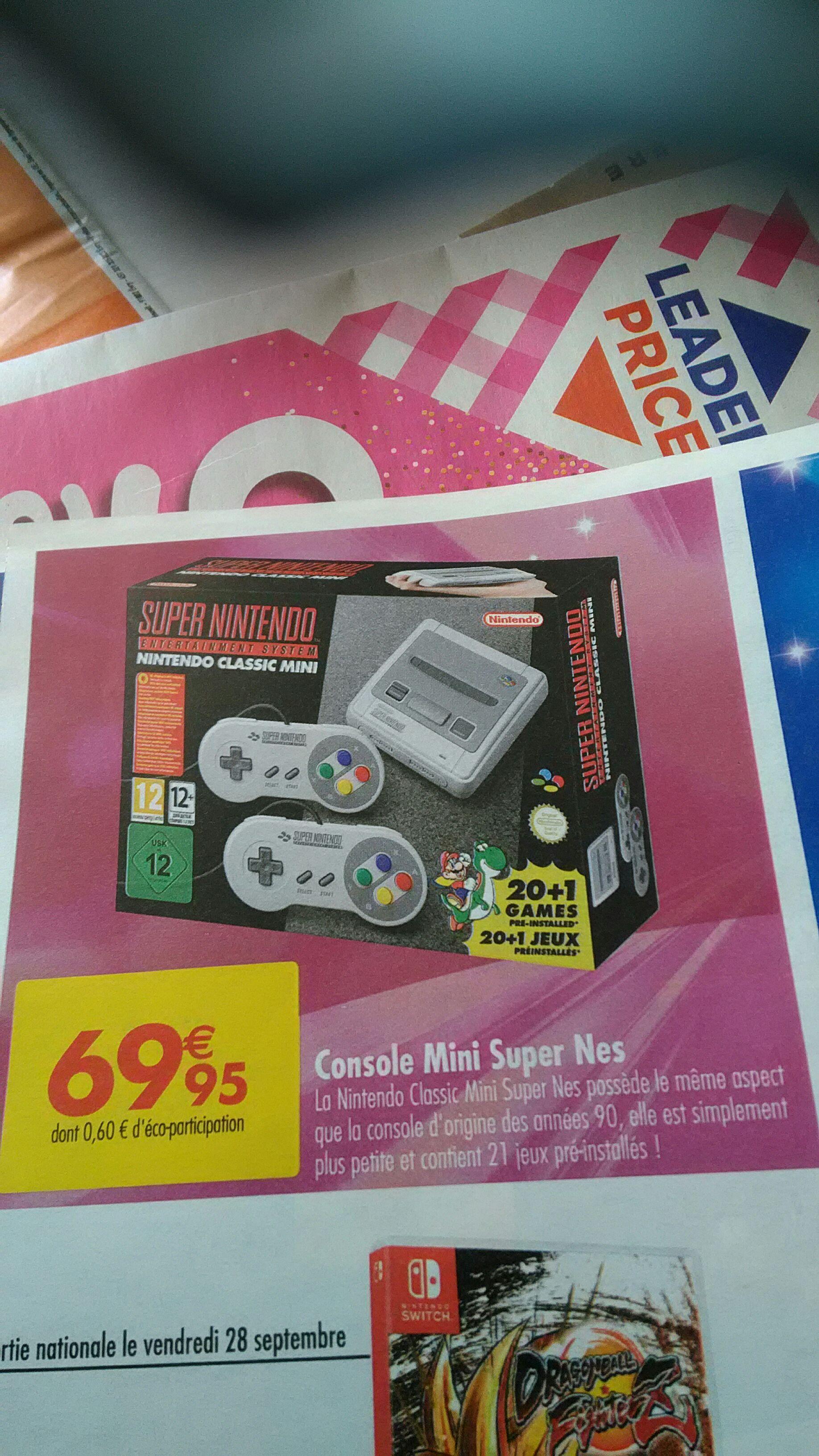 Console Nintendo Classic Mini SNES