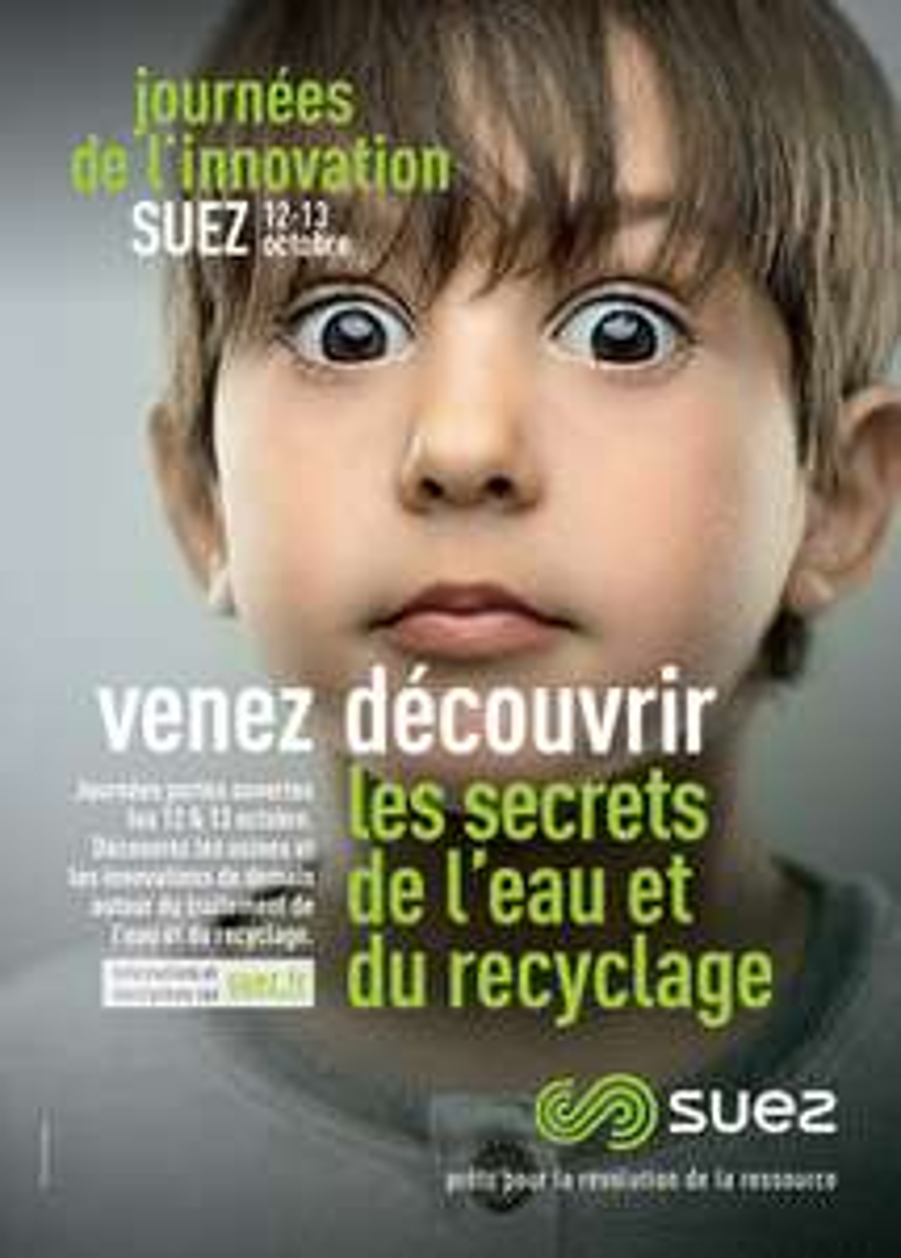 Journée de l'Innovation Suez : Visites des installations ce 12 et 13 Octobre (Suez.fr)