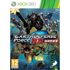 Jeu Earth Defense Force 2025 sur PS3, Xbox 360