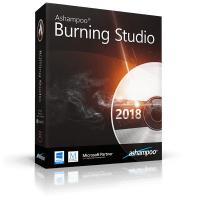 Logiciel Ashampoo Burning Studio 2018sur PC (Dématérialisé)