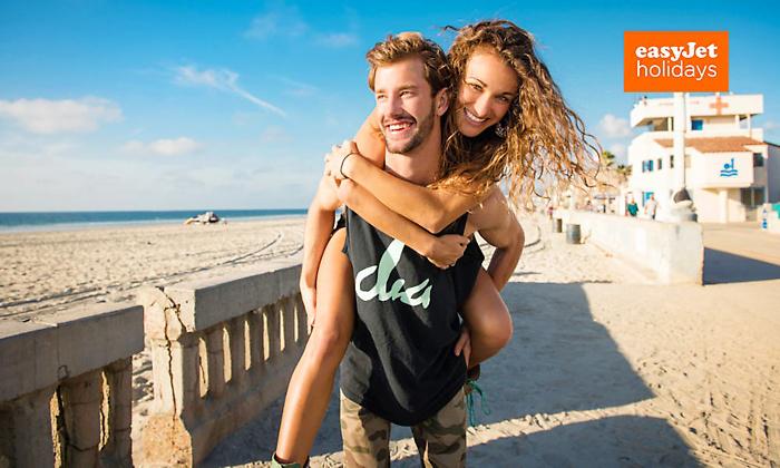 Bon d'achat de 50€ valable sur un séjour easyJet Holidays