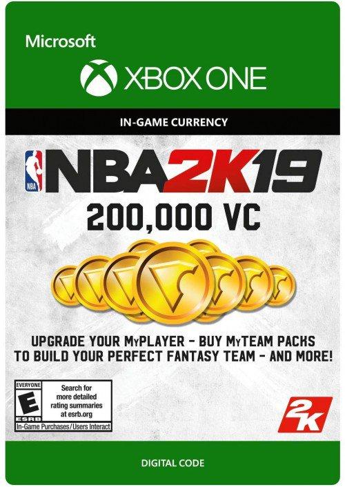 200,000 VC pour NBA 2K19 sur Xbox One