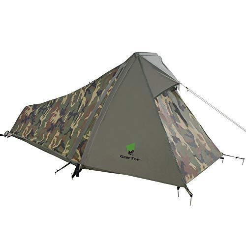 Tente de randonnée Geertop - 1 personne, 213x101x91 cm, 1.5 kg (vendeur tiers)