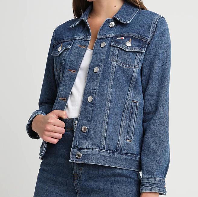 Veste en jean Tommy Jeans Classic Regular Trucker pour Femme
