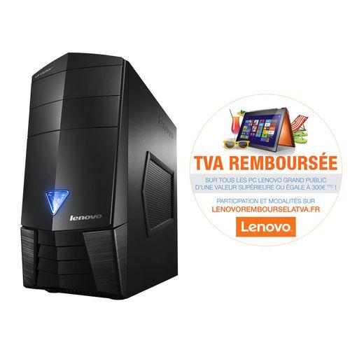 PC bureau Lenovo Erazer X310 90AV000VFR - i7 4790, HDD 1 To + 8 Go SSHD, RAM 8 Go,  Geforce GTX750 2 Go (avec ODR 130€)