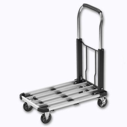 Chariot de transport repliable et extensible - 150kg de charge max