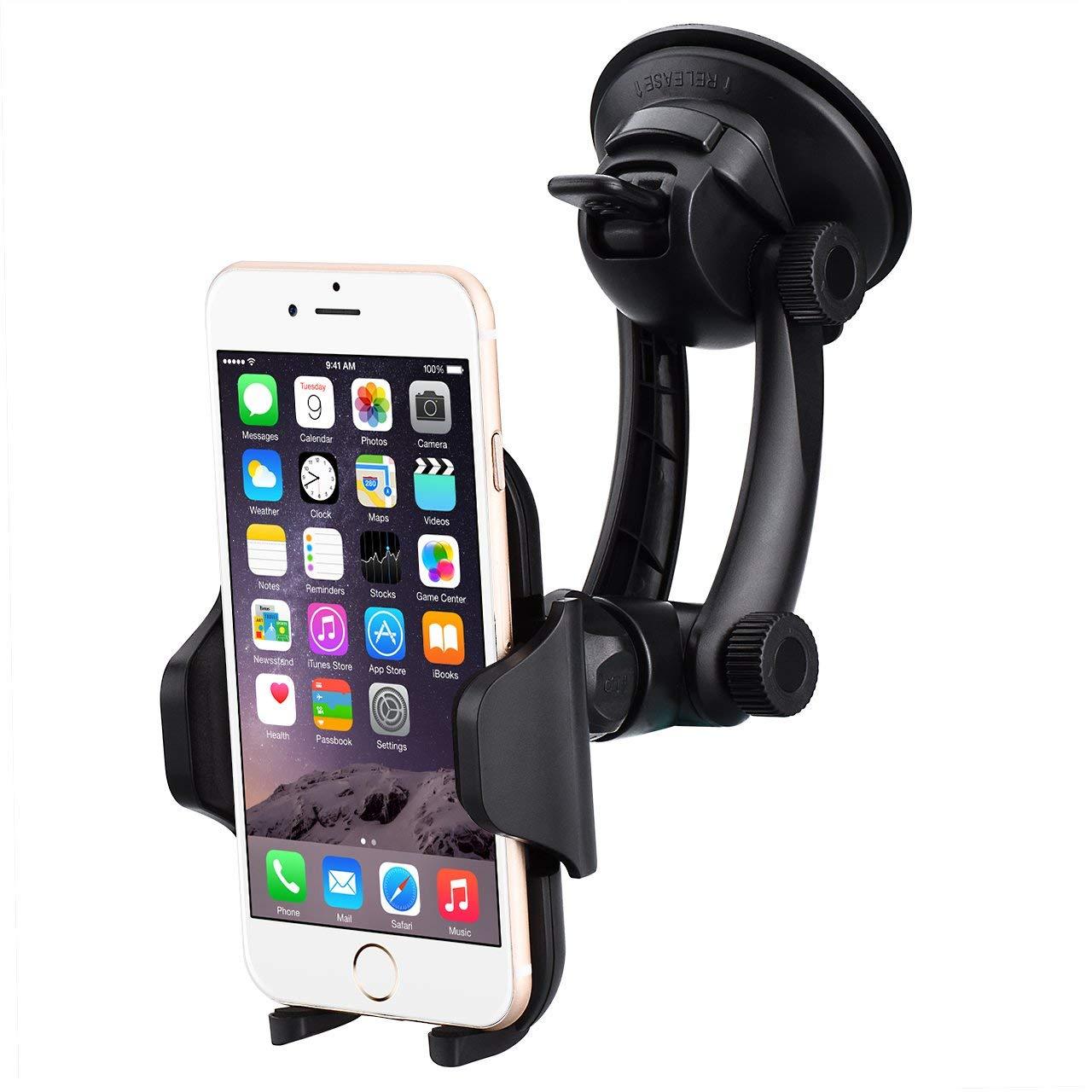 Support Téléphone Mpow pour Pare-brise / Tableau de Bord (vendeur tiers)