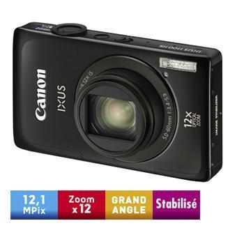 Canon Digital Ixus 1100 HS Rouge et noir