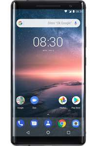 "Smartphone 5.5"" Nokia 8 Sirocco - 128 Go (via retrait magasin)"
