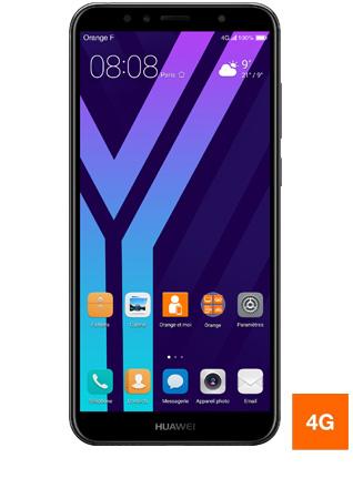 """Smartphone 5.7"""" Huawei Y6 (2018) - 16 Go (via ODR 20€)"""