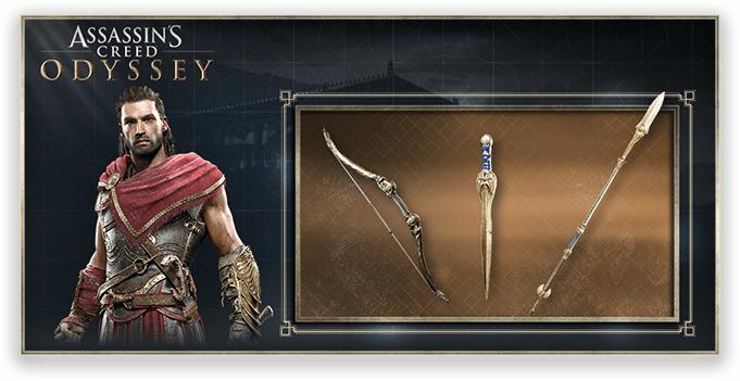"""Contenu additionnel """"Armes athéniennes"""" gratuit pour Assassin's Creed Odyssey sur PS4 / One / PC"""