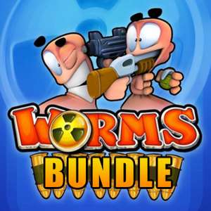 Worms Bundle: Worms Reloaded GOTY + Worms Ultimate Mayhem + Worms Blast + Worms + Worms Crazy Golf + Worms Pinball sur PC (Dématérialisé - Steam)