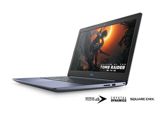 """PC Portable 15.6"""" Dell G3 15 - i7-8750H, 8 Go de Ram, 128 Go SSD 1 1 To HDD, GeForce GTX 1050 ti 4 Go"""