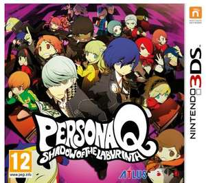 Jeu Persona Q : Shadow of the Labyrinth sur 3DS - Occasion, Micromania Antibes (06)