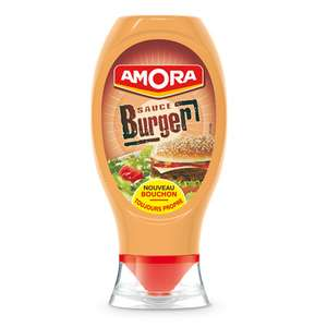 Sauce Amora Burger (via bon de réduction)