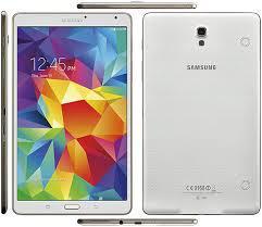 "Tablette 8.4"" Samsung Galaxy Tab S Blanche Wifi + 4G LTE"