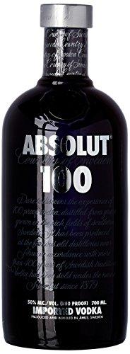 Bouteille de Vodka Absolut 100 -  70 cl