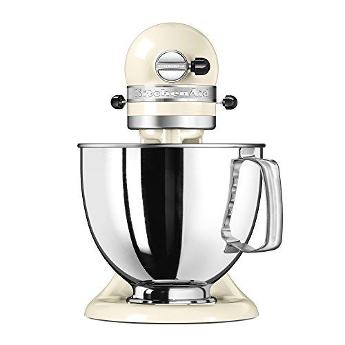 [Prime] Artisan Robot pâtissier Kitchenaid 5KSM125EAC - Crème, 4.8L, 300W