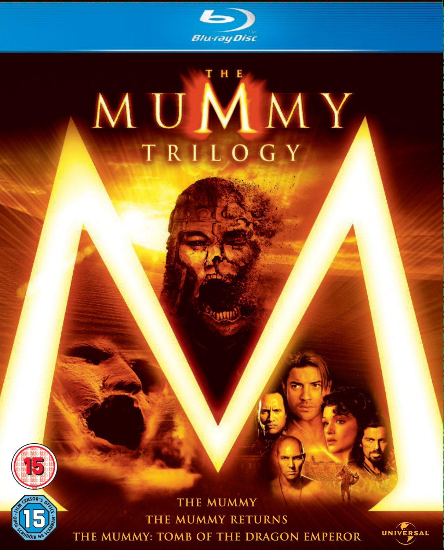 Coffret Blu-ray Trilogie La Momie