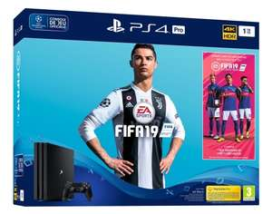 [Précommande] Pack console Sony PS4 Pro (1 To) + FIFA 19
