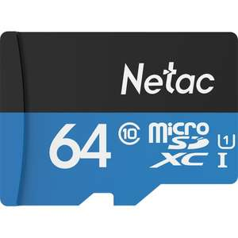 Carte microSDXC Netac Classe 10 - 64 Go