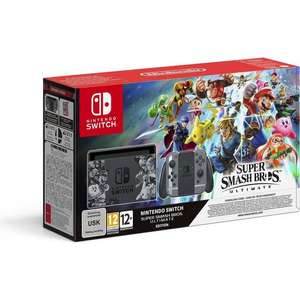 Console Nintendo Switch Super Smash Bros Ultimate Edition (Frontaliers Suisse)