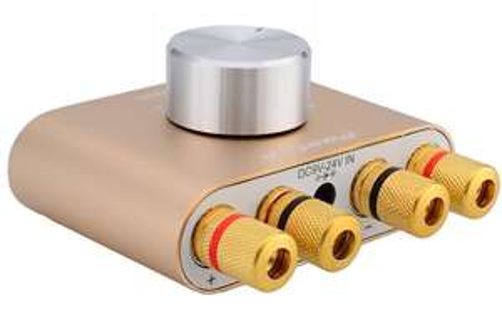 Mini amplificateur Bluetooth F900 - 2 x 50W, Coloris au choix (via l'Application)