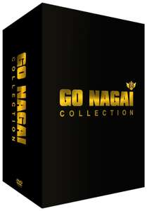 Coffret 7 DVD Gô Nagai Collection (auteur de Goldorak)