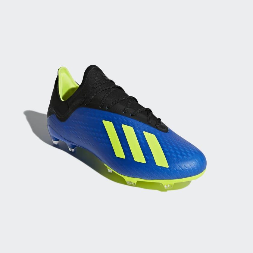 Chaussures de football Adidas X 18.2 Terrain Souple
