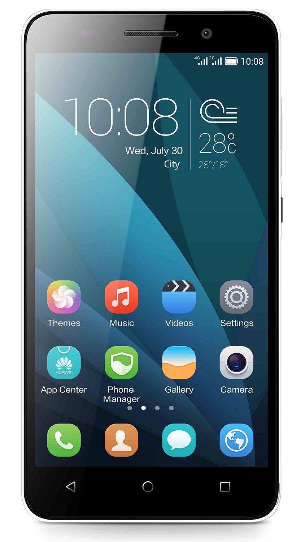 "Smartphone 5,5"" Huawei Honor 4X - Double Sim, 4G, Octa Core, 2 Go, 3000 mAh - Blanc (via ODR de 30€)"