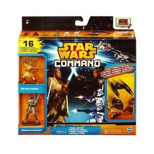 Déstockage de jouets - Ex: Figurines Star Wars Command Hasbro