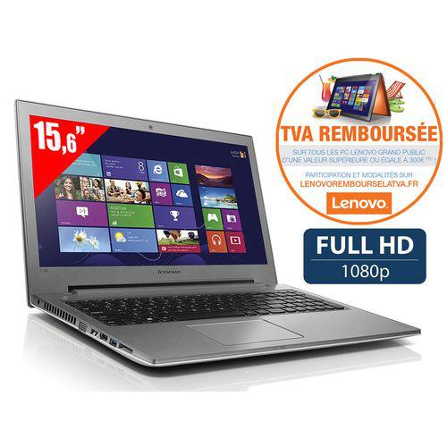 "PC Portable 15.6"" Lenovo Z50-70 - Core i7 - Full HD - 1 To - 4 Go de ram - GeForce 820M - Win 8.1 (via ODR TVA remboursée)"