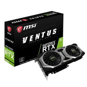 Carte graphique MSI GeForce RTX 2080 Ventus 8G OC (839.99€ avec le code DREAM)