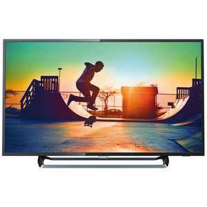 """TV 65"""" Philips 65PUS6262 - 4K HDR+, dalle VA, direct LED, HDR, Ambilight, Smart TV (frontaliers Suisse)"""