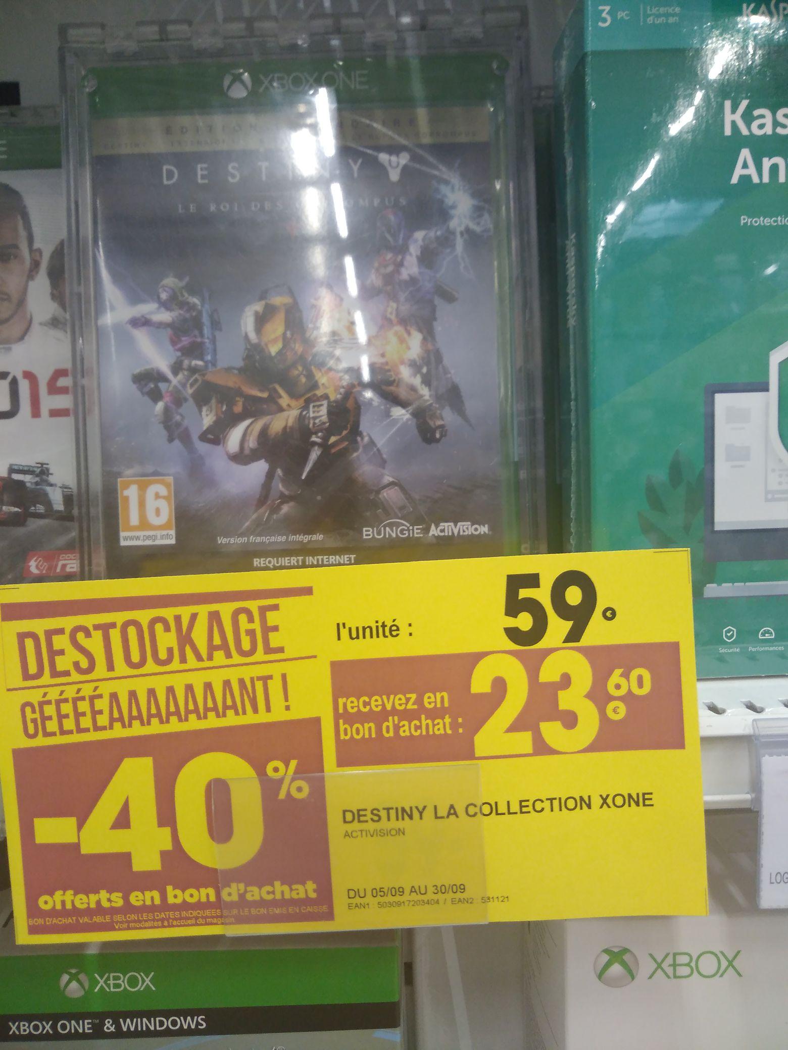 Destiny Édition légendaire le roi des corrompus sur Xbox One - (Via 23.6€ en 2 bons d'achat) - Gap (05)