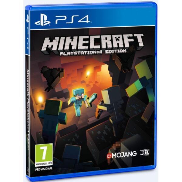 Jeu Minecraft sur PS4