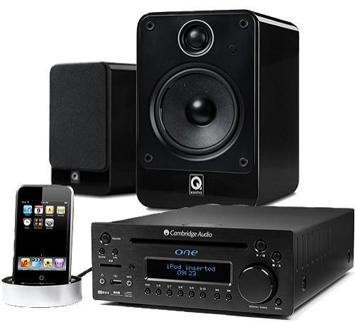 Très limité : Concept audio Cambridge one DX1-B + Q Acoustics Q2020