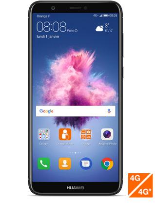 "Smartphone 5.65"" Huawei P Smart - Full HD, Kirin 659, 3 Go de RAM, 32 Go ROM, Noir (via ODR de 30€)"