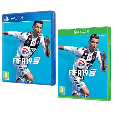 Jeu Fifa 19 sur PS4 ou Xbox One (Via offre de 5€ Cmax sur la Carte fidélité)